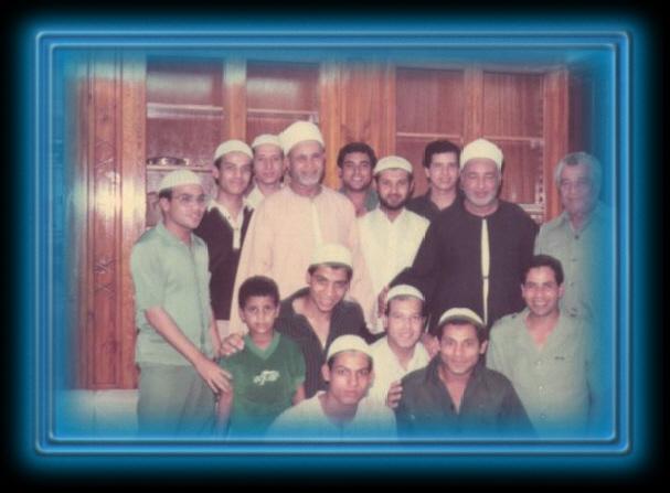 سيدنا د. علي وسيدنا الشيخ أبو بكر مع الإخوان